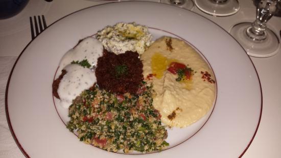 Restaurant Alyssaar Syrien : Grand choix du chef