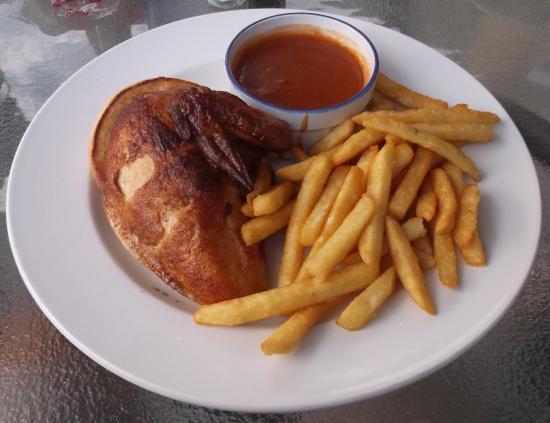 Patio: Poitrine poulet $11.9