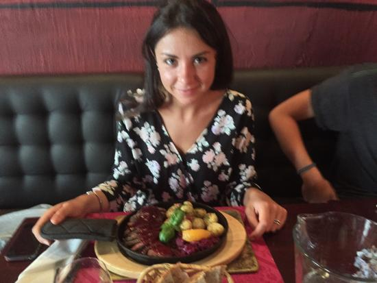 Restauracja Starka : Salmon salade, beef, duck...