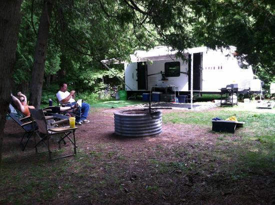 Harrisville State Park: campsite 207