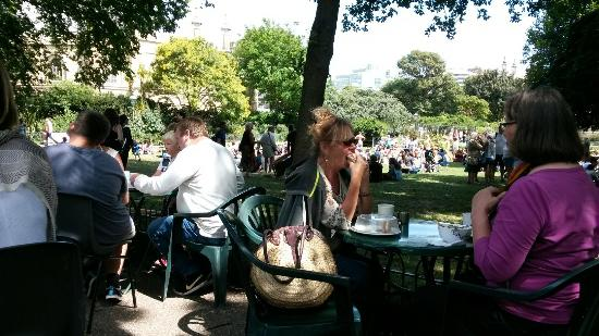 Pavilion Gardens Cafe: A lovely place to relax and watch life go by. Great food, drinks and staff.
