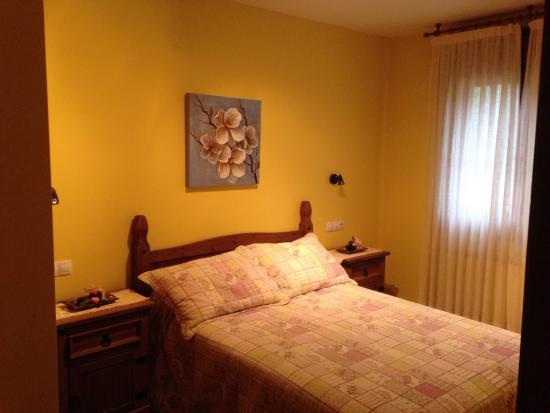 Corao, España: Dormitorio.