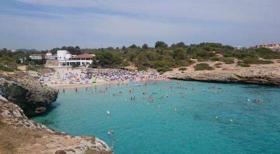 Club Hotel Tropicana Mallorca: Пляж