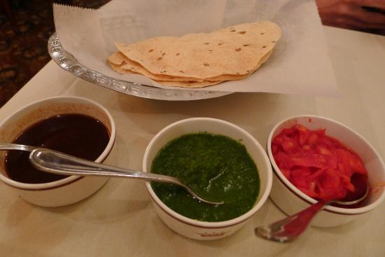 Crown Of India: The condiments and chutneys