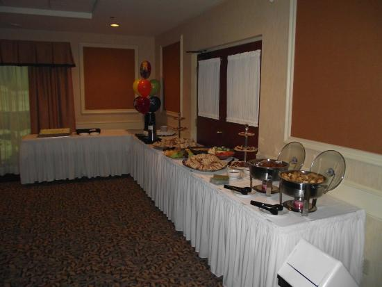 scarpaccio and great food by c and t catering -barrie