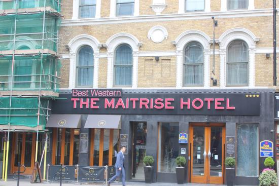 Douche Picture Of Best Western Maitrise Hotel London