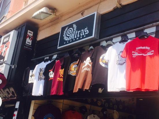 Monastiraki, Greece: Ultras shop