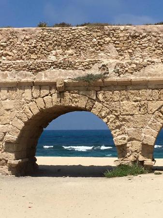 Casa Caesarea: Roman Aqueduct,  Caesarea Harbor National Park