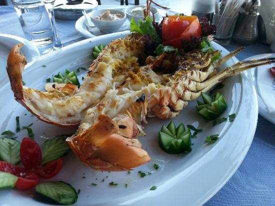 Agkyra Fish Restaurant : Leckerer Hummer! Tipp: am besten vorher ankündigen, dass man zum Hummer-Essen vorbeikommt, damit