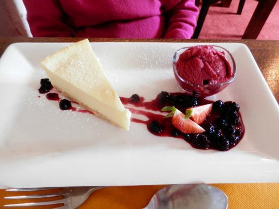 Llandinam, UK: dessert