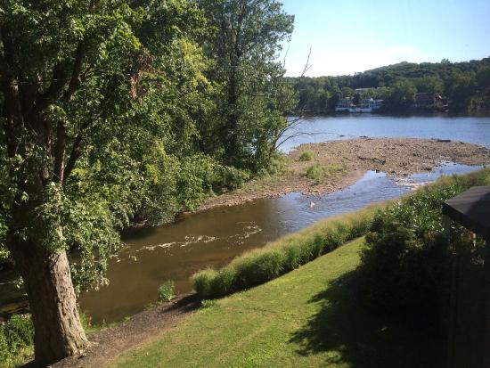 Inn at Lambertville Station: View from our room
