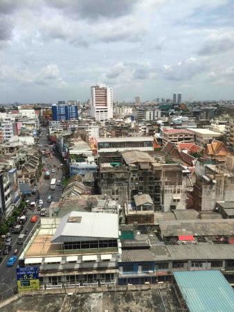 โรงแรม แกรนด์ไชน่า: Can see Chao Phraya River