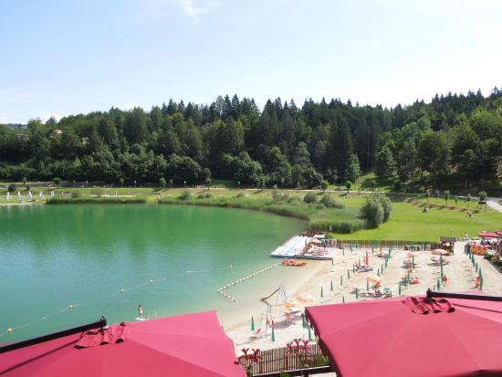 Hotel Al Lago: Lago da camera