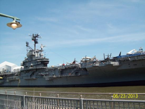 Intrepid Museum - Picture of Circle Line Cruises, New York ...
