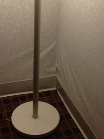 Days Inn Nashville at Opryland : Wallpaper coming off