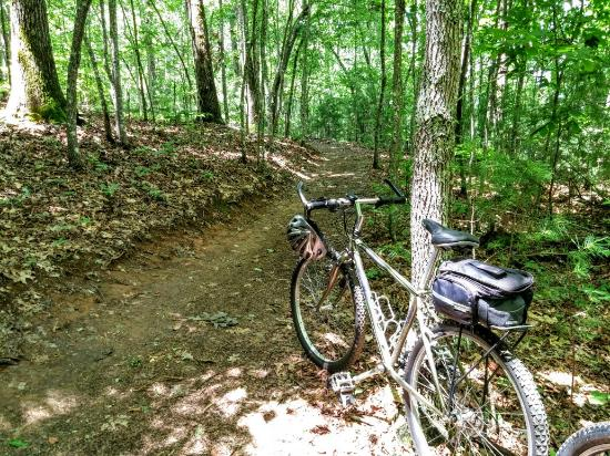 Hayesville, Carolina del Nord: Jackrabbit Mountain Bike & Hiking Trails