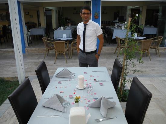 Hotel Mare: Özel bir masa