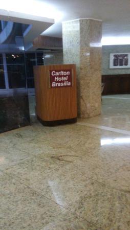 Carlton Hotel Brasilia: lobby