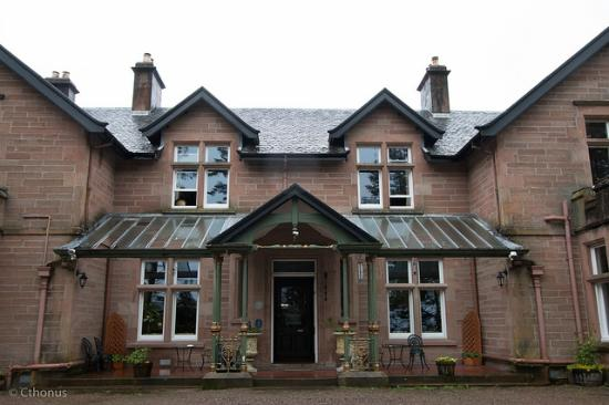 Ledgowan Lodge Hotel : A refuge from the rain