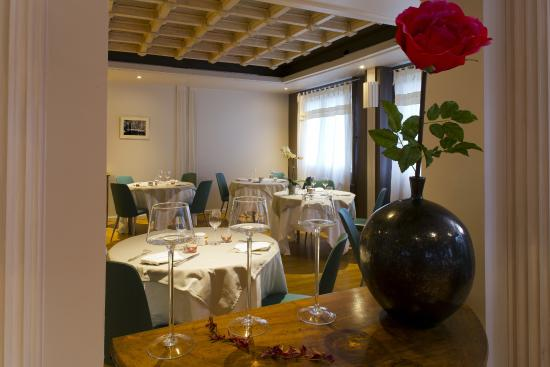 Hotel du Pont Roupt : Restaurant