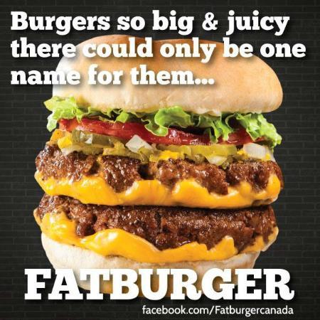 Fatburger Spruce Grove: BIG JUICY TASTY