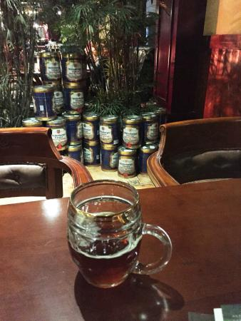 Tongling County, China: Beer time at Weltenburger Kloster