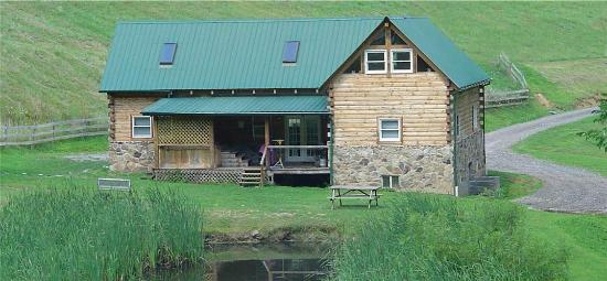 Hillbilly Haven Log Cabin Rentals: Almost Heaven Back