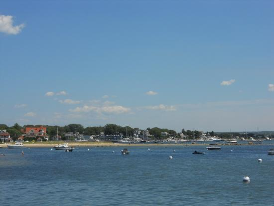 The town of Onset MA from Canal Cruise
