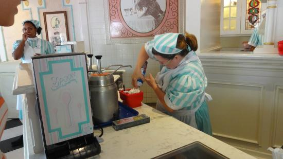 Making The Mickey Kitchen Sink Picture Of Plaza Ice Cream
