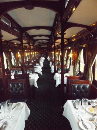 Victoria Falls Steam Train: Dining car