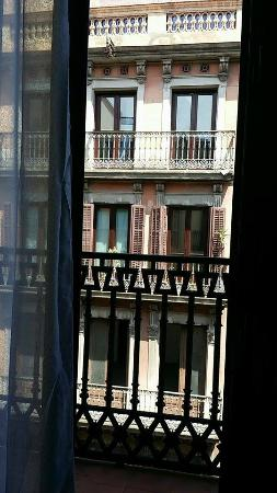 Las Ramblas Apartments III: The view was a lot better than I anticipated after seeing few reviews