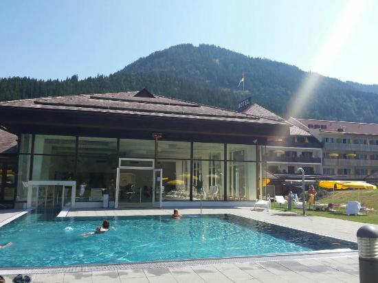Weissbriach, النمسا: Aussenpool