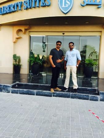 Liberty Suites Hotel - Doha: my friend mr dileep