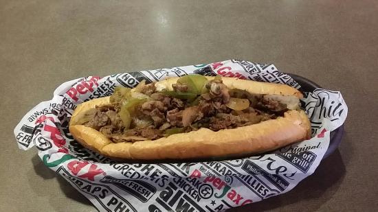 Pepperjax Grill: Philly Cheese Steak Sandwich