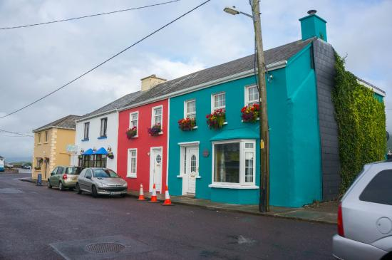 Portmagee Heights: beautiful town, walking distance