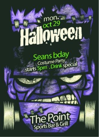 The Point Sports Bar & Grill: Halloween is always a blast at the point.