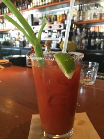 Tiburon, CA: Best Bloody Mary -- Thanks, Jose!