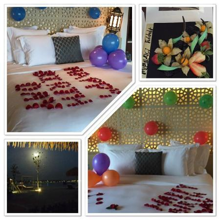High Quality Banana Island Resort Doha By Anantara: Decorated Our Room For My Husbandu0027s  Birthday
