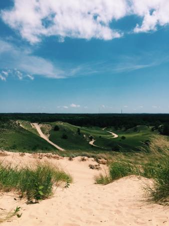 Saugatuck Dune Rides was a blast! Like nothing I've ever done before!