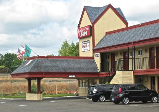 Lakeview Inn Centralia : Exterior, Lakeview Inn