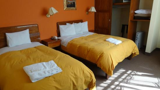 Imperial Cusco Hotel: a double bedroom