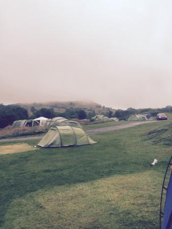 Park Cliffe Camping & Caravan Estate: The views were amazing