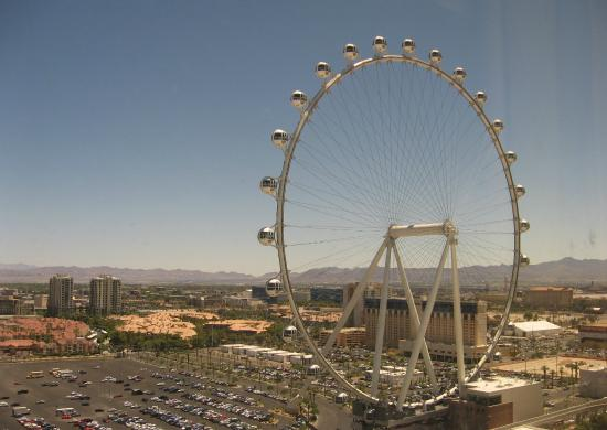 Harrah S Las Vegas High Roller View Room