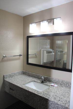 Granite Vanity at Westbridge Inn & Suites