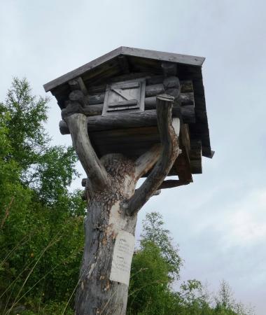 Grenselandmuseet: Saami storage house