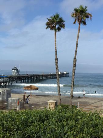 San Clemente State Beach: Enjoyed the beach view and the sound of the ocean