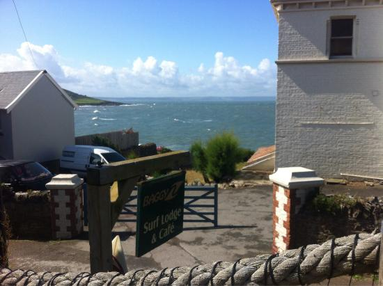 Baggy Surf Lodge &Cafe: Baggys surf lodge, favourite place to chill and eat in croyde!