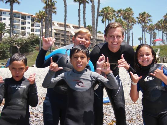 San Clemente, CA: Surf Camp