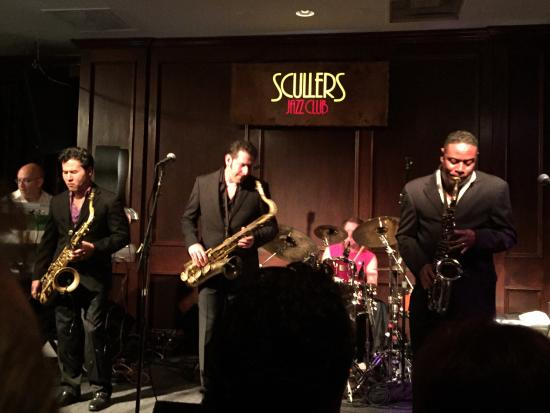 Scullers Jazz Club: An amazing show with the Sax Pack August 1, 2015!!!