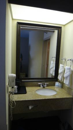 Sleep Inn Billy Graham Parkway: Sink Area